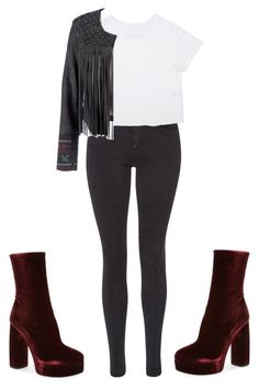 """Untitled #246"" by fashion12girl ❤ liked on Polyvore featuring Miu Miu, Maison Scotch and Lea Lov"