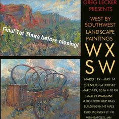 Final 1st Thurs Before WXSW Closing! May 5; 5-9pm @ Gallery Immaginé #183 Northrup King Bldg http://www.northrupkingbuilding.com/firstthursdays
