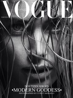 FOR A STYLE MUSE || Doutzen Kroes Vogue Cover || NOVELA...where the modern romantics play & plan the most stylish weddings (Instagram: @novelabride) www.novelabride.com