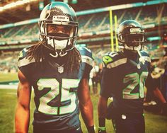 #25 Richard Sherman One of the nicest person I ever meet