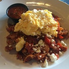 Company Cafe - Dallas, TX, United States. Migas
