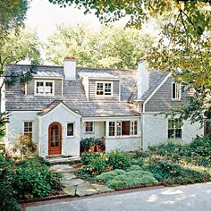 Before and After: Fresh Facade Exterior < 50 Beautiful Coastal Befores & Afters - Coastal Living