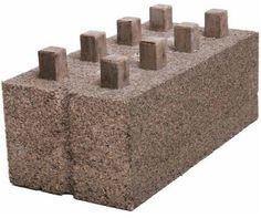 Just Biofiber http://justbiofiber.ca/ has cool product. A Hempcrete brick. Hempcrete is a great way to build. However, most of the time it can't be used for ...