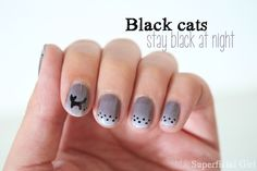 Totally Superficial Girl: Black cats stay black at night