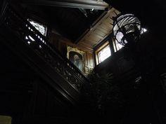 The main staircase at Wilderstein