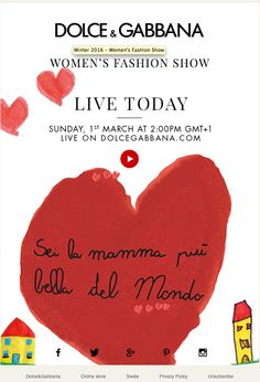 LIVE TODAY - Watch the Winter 2016 Women's Fashion Show