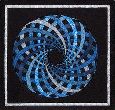 spiral quilts | No-sew mathematical quilts: