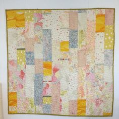 bound Nani Iro double gauze quilt  this quilt skipped in line big time on my to do list, but it feels really good to have a finish, especially one I can keep!  | por gina pina