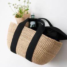 新ブランド「MUUN」から素敵なかごバッグが届きました!