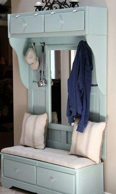 flur möbel garderobe alte möbel restaurieren