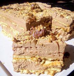 """Η Συνταγή είναι της κ. Tzeni Tsanaktsidou – """"ΑΓΑΠΑΜΕ ΜΑΓΕΙΡΙΚΗ!!!!! ΑΓΑΠΑΜΕ ΖΑΧΑΡΟΠΛΑΣΤΙΚΗ!!!!!!"""" ΥΛΙΚΑ - ΕΚΤΕΛΕΣΗ Χτυπαμε 350 γραμμάρια κρεμα γαλακτος πολυ παγωμένη 35% πληρες να στέκεται προσθέτουμε 5 κουταλιές γεμάτες μερεντα ανα δόσεις και χτυπάμε! Παίρνουμε Mousse, Chocolate Sweets, Pudding, Party Desserts, Yams, Greek Recipes, Popsicles, Tiramisu, Creme"""