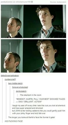 Just another day for John and Sherlock.