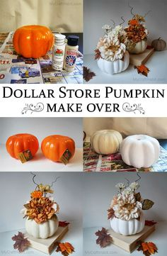 Trendy Ideas for dollar tree diy crafts for teens Thanksgiving Crafts, Fall Crafts, Holiday Crafts, Diy And Crafts, Thanksgiving Decorations, Dollar Tree Decor, Dollar Tree Crafts, Dollar Tree Centerpieces, Dollar Tree Fall