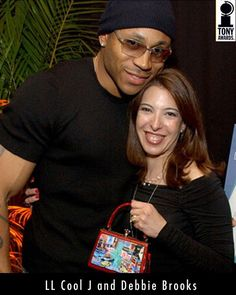 Debbie Brooks with LL Cool Jay.  We sell the complete collection at our store Renaissance Fine Jewelry. Find us at www.vermontjewel.com, Facebook, twitter and at 1-802-251-0600.