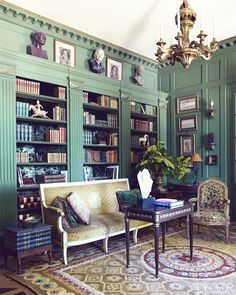 dustjacket attic: Interior Design | French Manor House