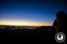 Watching the Sunrise on Mount Haleakala Maui Hawaii~~ you've got to see these beautiful pictures to believe them!