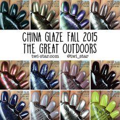 China Glaze -- The Great Outdoors Fall 2015