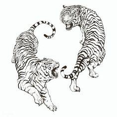 Tatoo Tiger, Tiger Tattoo Design, Tattoo Designs, Tattoo Ideas, Mini Tattoos, Small Tattoos, Retro Tattoos, Tattoo Sketches, Tattoo Drawings