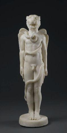 Kronos mithriaque 389 ap. J.-C. Mithraeum, Sidon (Saïda, Liban)