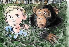 """Buchvorstellung und Gewinnspiel """"Adam der Affe"""" #gehörlosblog - macht mit! :-)"""