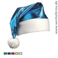 Werbeartikel für Weihnachten / Glan Nikolausmtütze / Weihnachtsmütze mit Werbung / Weihnachtsartikel mit Werbung / Werbemittel für Weihnachten