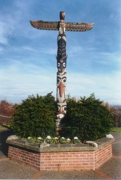 Viewpoint Park Totem Pole, Seattle