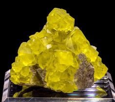 Gemmy Italian Sulphur Mineral Specimen
