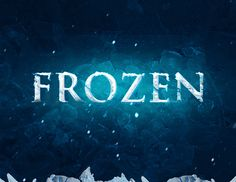 Create Realistic Frozen Text Effect in Photoshop