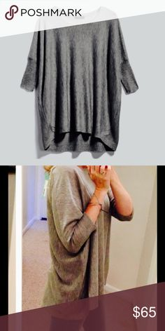 Cozy Gray Loose Fit Sweater | M Soft material | Medium | New with tags | Buy three items and get 15% off Staccato Sweaters