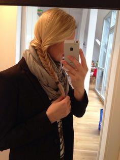 Meine heutige Frisur. Jetzt auf meinem Blog.