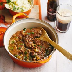 Healthy Slow Cooker, Healthy Cooking, Slow Cooker Recipes, Healthy Recipes, Irish Stew, Beer Recipes, Side Dish Recipes, Enjoy Your Meal, Tapas