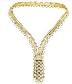 Van Cleef & Arpels Zip Necklaces