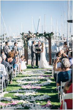 Wedding: Justin & Sarah | San Diego Yacht Club, CA | Analisa Joy Photography | San Diego, CA Photographer » Analisa Joy Photography Wedding Arch!