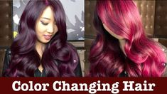 Color Changing Hair www.youtube.com/GuyTangHair