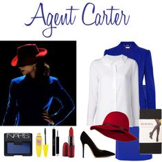 "An enjoying the show so far! ""Agent Carter"" by fandomfashions42 on Polyvore"