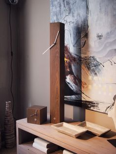 #Totem one of the first series of #Tothora Clocks and #Quadra .