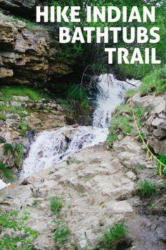 Davis Creek Waterfalls & Indian Bathtubs Trails | Farmington | Adventurin' | The Salt Project Camping In Washington State, Utah Camping, Camping And Hiking, Hiking Trails, Hiking Guide, Colorado Hiking, Backpacking, Farmington Utah, Camping In North Carolina