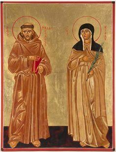 Καθολική εκκλ.___Αγ.Φραγκίσκος της Ασίζης (1182 – 3 Οκτωβρίου 1226) _oct 4 ( Sts Francis and Clare of Assisi