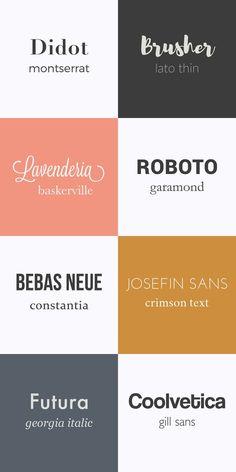 combinaison typographie More More