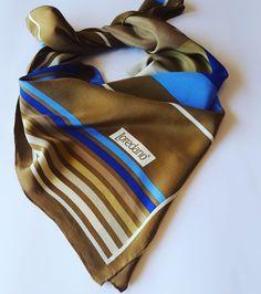 #vintage #scarves #silk #seventies Etsy https://www.etsy.com/it/listing/398378083/foulard-scarf-vintage-loredano-in-pura