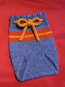 Free Knitting Pattern - Baby Knits: Diaper Soaker