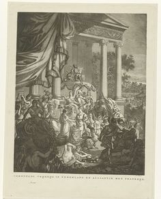 Willem Kok   Allegorische voorstelling op het bondgenootschap tussen Nederland en Frankrijk, 1795, Willem Kok, 1795 - 1800   Allegorische voorstelling op het bondgenootschap tussen Nederland en Frankrijk, 1795. In het midden worden de Nederlandse Maagd en Franse Republiek (als jongeman) door de Vrijheid in het echt verbonden, met het teken van eeuwigheid: een ring gevormd door een slang die in zijn eigen staart bijt. Voor het huwelijkspaar bevinden zich een haan en een leeuw en achter hen…