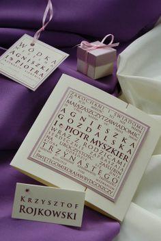 Nowoczesne zaproszenia ślubne w tradycyjnej kolorystyce