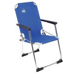 Outdoor stoel van het merk Bo Camp voor kids. Deze stoel is gemaakt van een aluminium frame. Verder heeft deze stoel stabilisatoren voor ext...