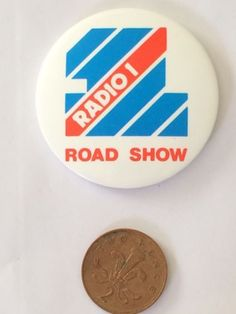 Bbc #radio one road show #button pin #badge (see pics) #radio 1 vintage logo,  View more on the LINK: 	http://www.zeppy.io/product/gb/2/252489663538/