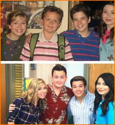 "Nickelodeon's ""iCarly"" Cast Then And Now Awwwwwwwwwwwwwwwwwwwwwwwww<-- Nathan is married!"