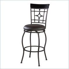 The modern, unique style of the Adjustable Catalona Stool will add eye-catching style to your kitchen, dining or home pub area. Crafted of sturdy metal and highlighted with subtle curves and a distinctive back, this stool is a positively striking add