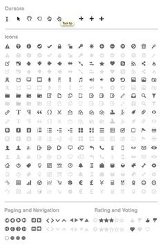 Wireframe Icons for Axure Learn about User Experience Design at http://www.thrillive.com