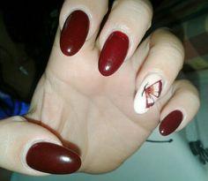 Brown nail