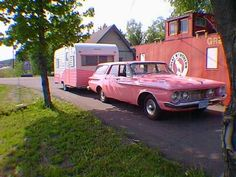 1962 Pink Plymouth Savoy